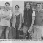 Article Ouest France projet Zéro CO2